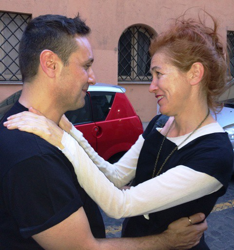 Sylvio Giardina and Maria Sole Vannetti, photo by N