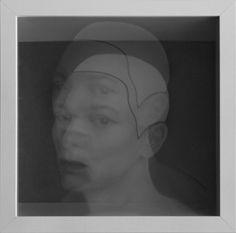 Jolanda Spagno, graphite on lens (2012)