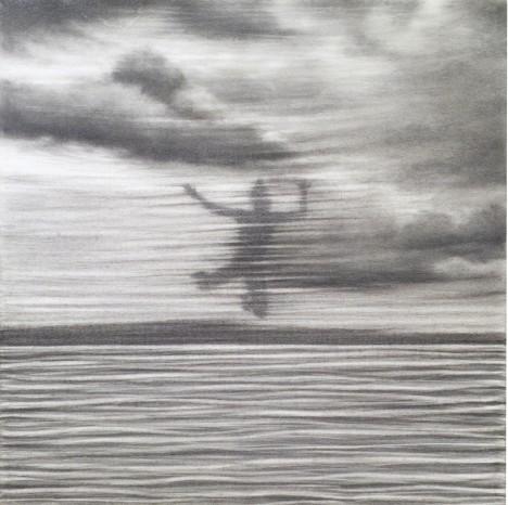 Jolanda Spagno, graphite on paper (2009)