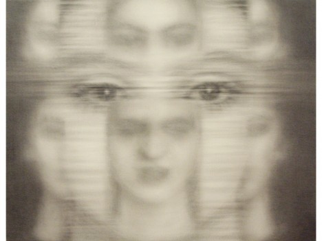 Jolanda Spagno, graphite on canvas (2010)