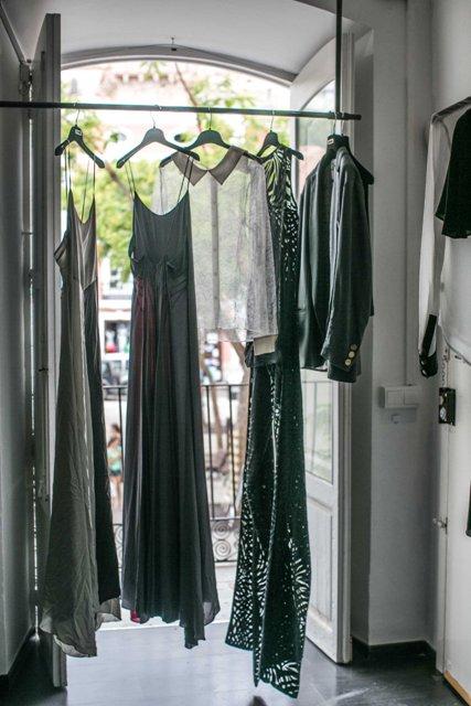 Ludovica Amati, the Ibiza showroom