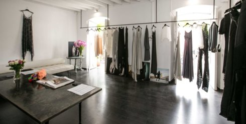 Ludovica Amati, the Ibiza showroom