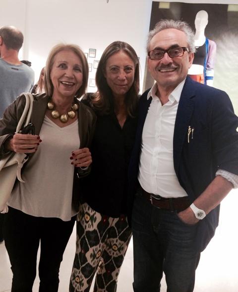 Angelo Marani, Cinzia Malvini and a friend, photo by N