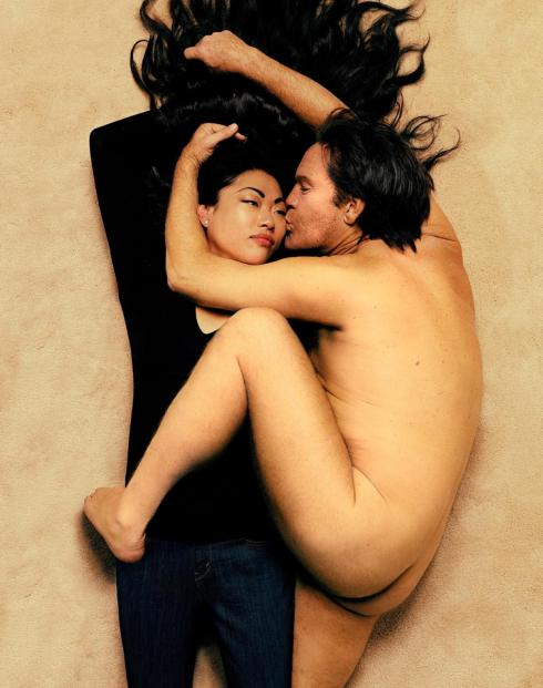 Sandro Miller, Annie Leibovitz / John Lennon and Yoko Ono (1980), 2014, photo courtesy of Catherine Edelman Gallery
