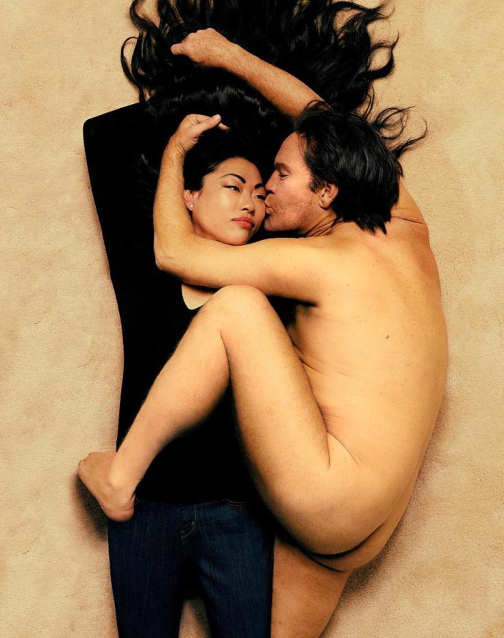 Sandro Miller, Annie Leibovitz / John Lennon and Yoko Ono (1980), 2014, photo courtesy of Catherine Edelman Gallery