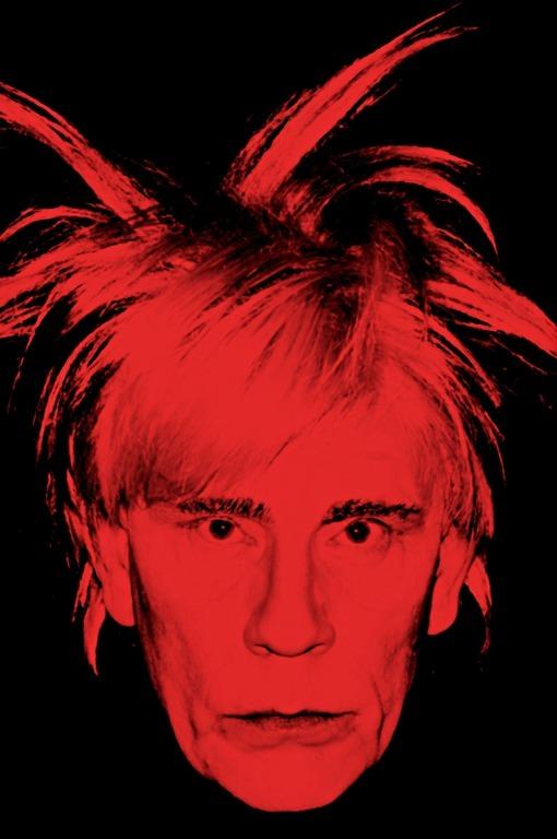 Sandro Miller, Andy Warhol / Self Portrait (Fright Wig) (1986), 2014, photo courtesy Catherine Edelman Gallery