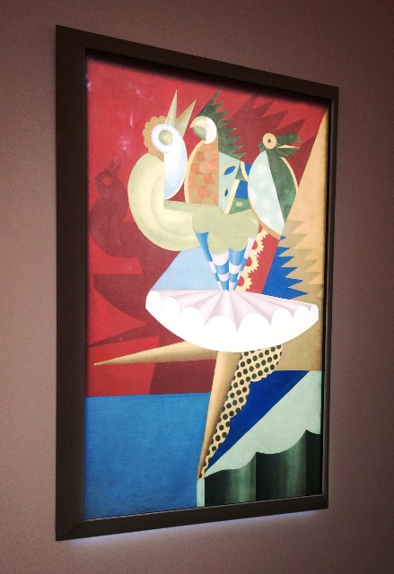 """Rotation of ballerina and parrots"", Fortunato Depero, photo by N"