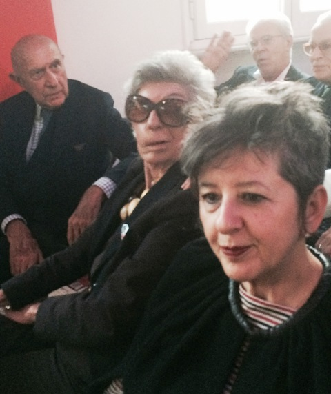 Beppe Modenese, Fiamma Lanzara, Maria Luisa Frisa, photo by N