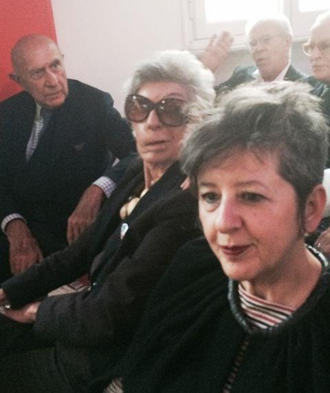 Beppe Modenese, Fiamma Lanzara, Maria Luisa Frisa, photo by N