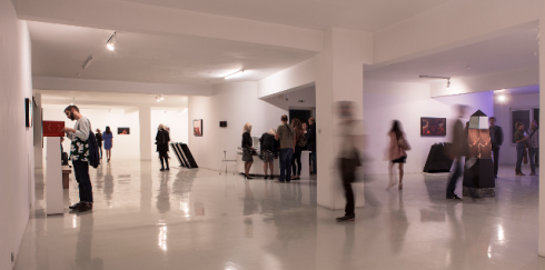 """""""Innervotexta"""" at the Athens Kappatos Gallery, photo courtesy Present Future Film"""