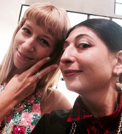 Bea Bongiasca and me, myself & I, photo by N