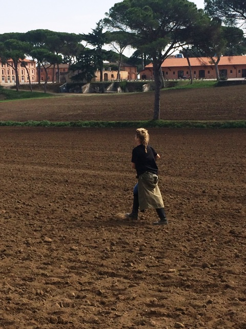 The walk of a pioneer: Ilaria Venturini Fendi, photo by N