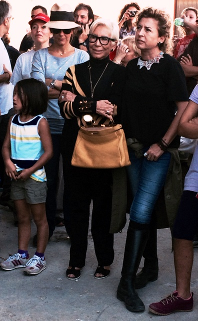 Mother and daughter: Anna Venturini Fendi and Ilaria Venturini Fendi, photo by N