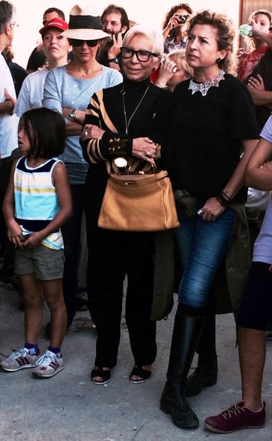 Mother and daughter: Anna Venturini Fendi and Ilaria Venturini Fendi, photo by N