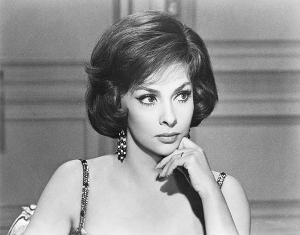 """Gina Lollobrigida,  still image from the movie """"Come September"""" (1961) by Robert Mulligan, ©Universal Pictures"""