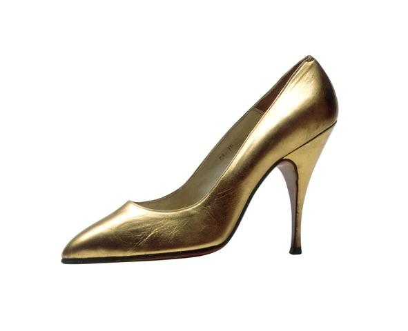 """Salvatore Ferragamo, """"Decolletè"""",shoes created for Maliryn Monroe in the movie """"Bus Stop"""" by Joshua Logan, 1965, photo Roberto Quagli"""