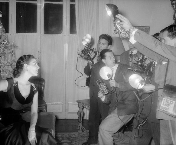 """Still image from the movie """"The Barefoot Countess"""" by  Joseph L. Mankiewicz, 1954, photo Osvaldo Civirani, courtesy Archivio Fotografico della Cineteca Nazionale - Centro Sperimentale di Cinematografia. Fondo Civirani"""