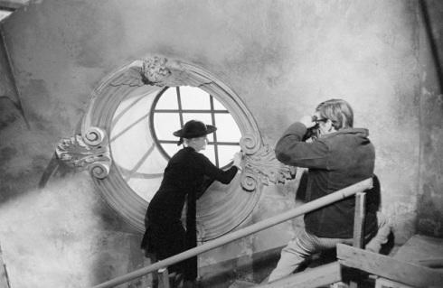 """Anita Ekberge ft. in """"La dolce vita"""" by Federico Fellini, 1960, photo Pierluigi Praturlon, courtesy Archivio Fotografico della Cineteca Nazionale - Centro Sperimentale di Cinematografia. Fondo Reporters Associati"""
