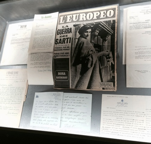 """The magazines and documents ft. in """"Bellissima"""", photo by N"""