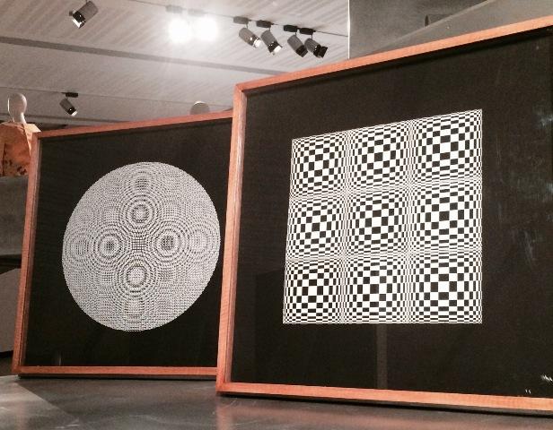 Alberto Biasi (1964-1965, National Gallery of Modern Art), photo by N