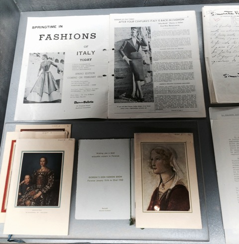 """The catalogues and documents ft. in """"Bellissima"""", photo by N"""