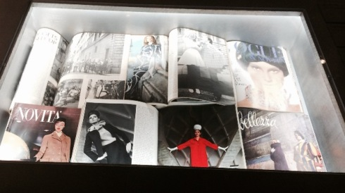 "Magazines ft. in ""Bellissima"", photo by N"