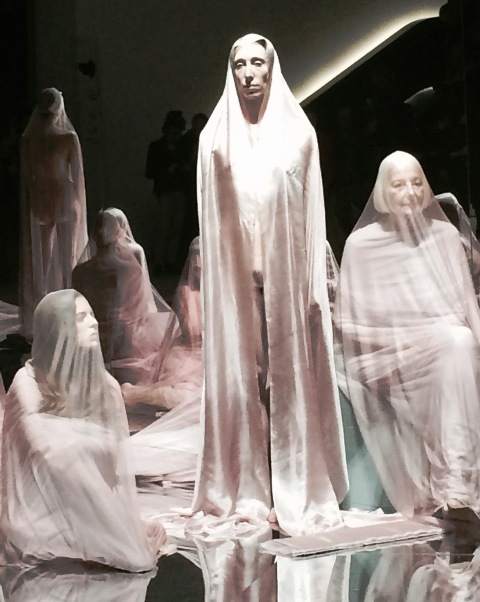 VB74 by Vanessa Beecroft,  photo by N