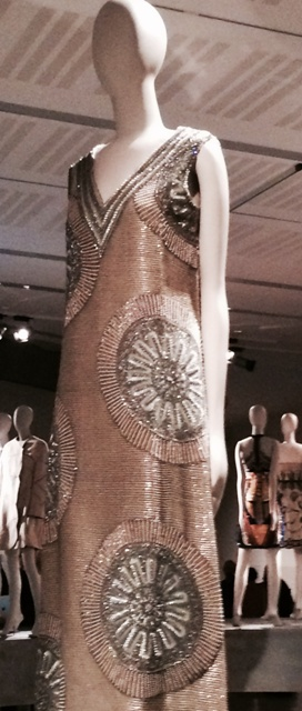 Mila Schön (tulle evening dress, embroidered with beads, owned by Gioia Marchi Falck, Fall/Winter 1967-1968, courtesy  Palazzo Pitti  Costume Gallery- Tirelli donation), photo by N
