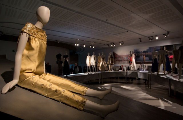 """A creation by Galitzine, ft. in the exhibition """"Bellissima. The Italy of high fashion 1945-1968"""",  photo by Musacchio & Ianniello, courtesy of Rome MAXXI Museum"""