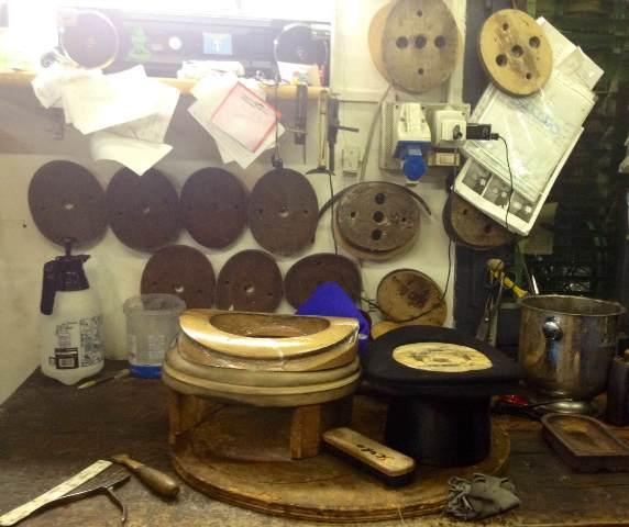 The atelier of Patrizia Fabri