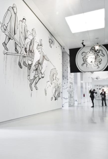 OZMO, Il PreGIUDIZIO UNIVERSALE (meaning: The UNIVERSAL Prejudice), Museo del '900, Milano, 2012, photo courtesy of Paolo Sala