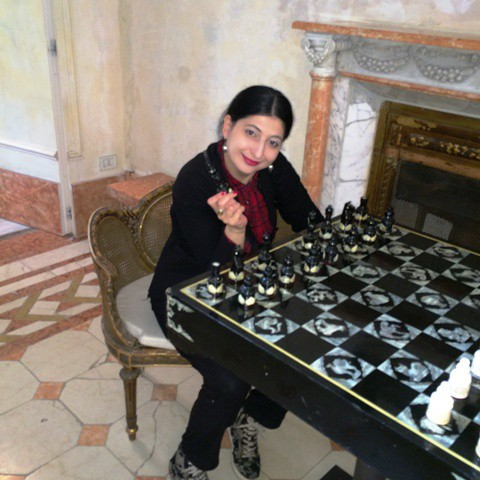 Chess celebration ft. me, myself and I, photo by N