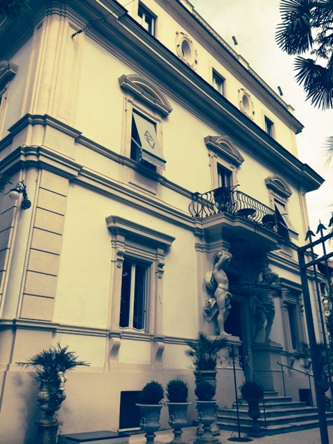 Villa Laetitia, Rome, photo by N