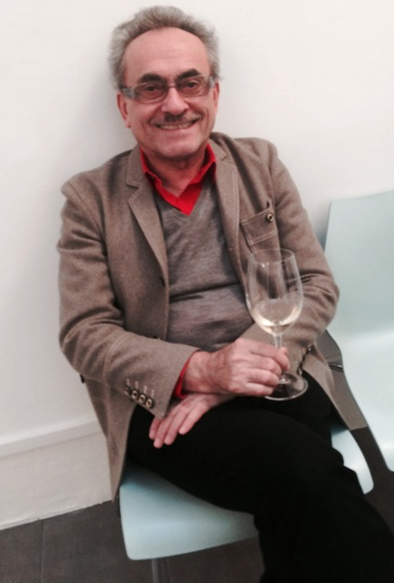 Giulia's father, the fashion designer Angelo Marani, photo by N