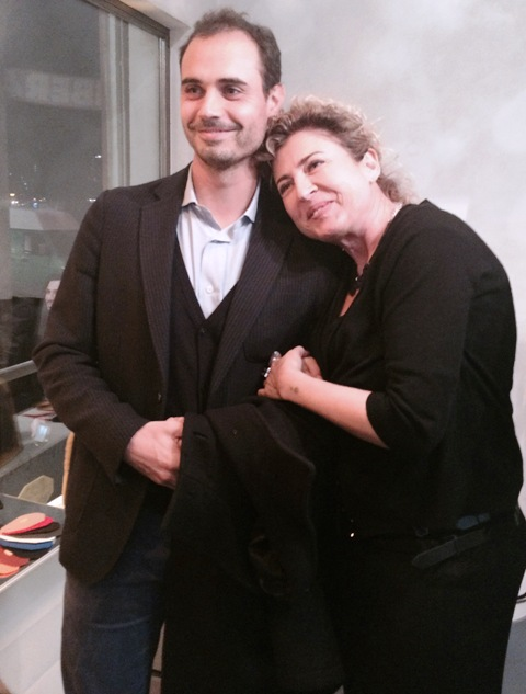 Ilaria Venturini Fendi and Enea Roveda, photo by N