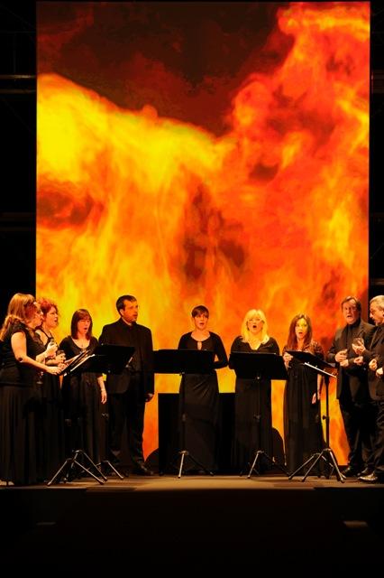 The Chorus performing