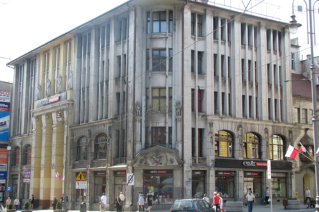 the Jedynak department store, photo courtesy bydgoszcz.pl