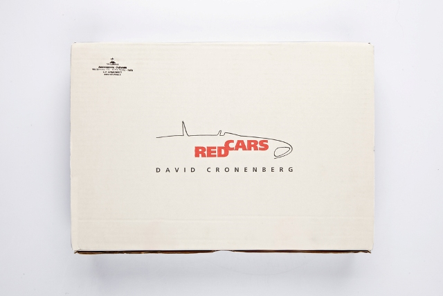 """The book-object """"Red cars"""" by David Cronenberg"""