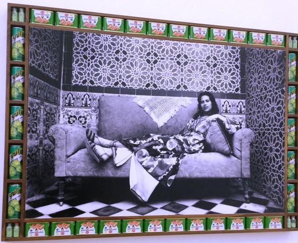 Hassan Hajjaj, Ilham, 2000, courtesy of the artist and Taymour Grahne Gallery, New York