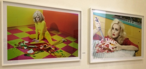Miles Aldridge, first impression 1, firts impression 2, 2006, courtesy Steven Kasher Gallery, New York, photo by N