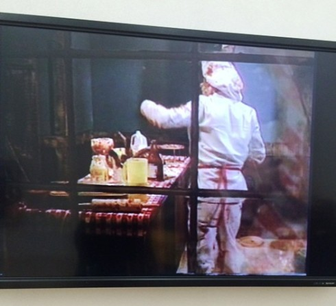 "Paul McCarthy, Bossy burger, 1991, video, duration 58' 59"", photo by N"