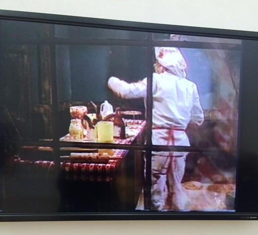 "Paul McCarthy, Bossy burger, 1991, video, duration 58' 59"", photo by N"