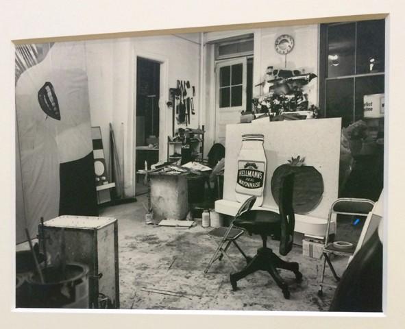 Ugo Mulas, The Warhol factory,  photo by N