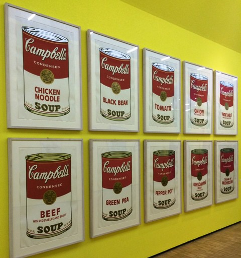 Andy Warhol, Campbell's soup| Portfolio, 1968, private collection, New York