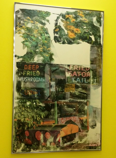 Robert Rauschenberg, Hungry weeds, 1969, Robert Rauschenberg Foundation, New York, photo by N