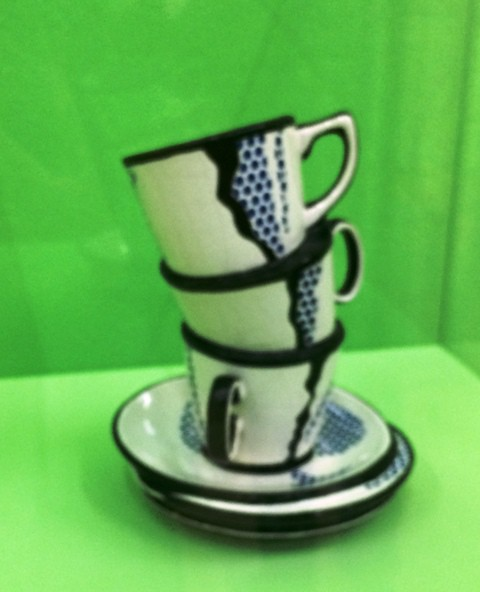 Roy Lichtenstein, Ceramic sculpture, 1965, private collection, Switzerland, photo by N