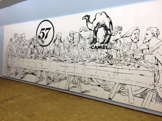 Andy Warhol, The last supper (Camel/57), 1986, Mugrabi collection, New York, photo by N