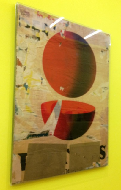 Mimmo Rotella, Point and a half, 1962, private collection, courtesy of Marconi Foundation, photo by N
