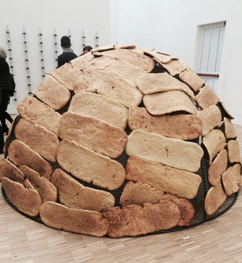 Mario Merz, Igloo of bread, 1989, Mario Merz Collection, Turin