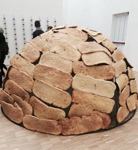 Mario Merz, Igloo of bread, 1989, Mario Merz Collection, Turin